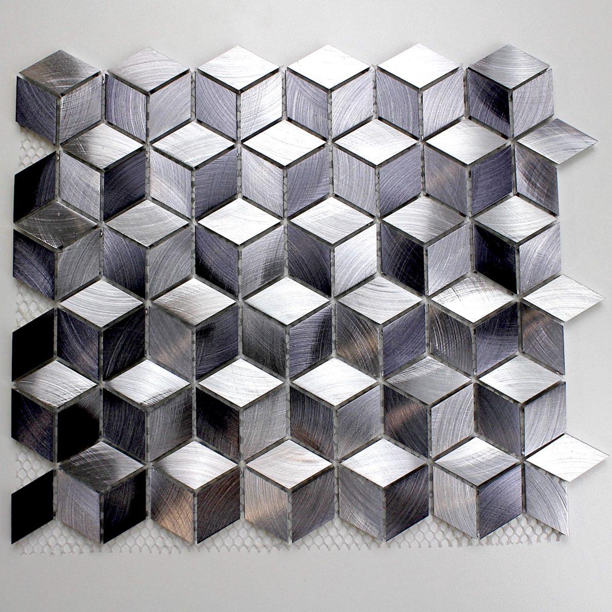 carrelage mosaique aluminium HIBA