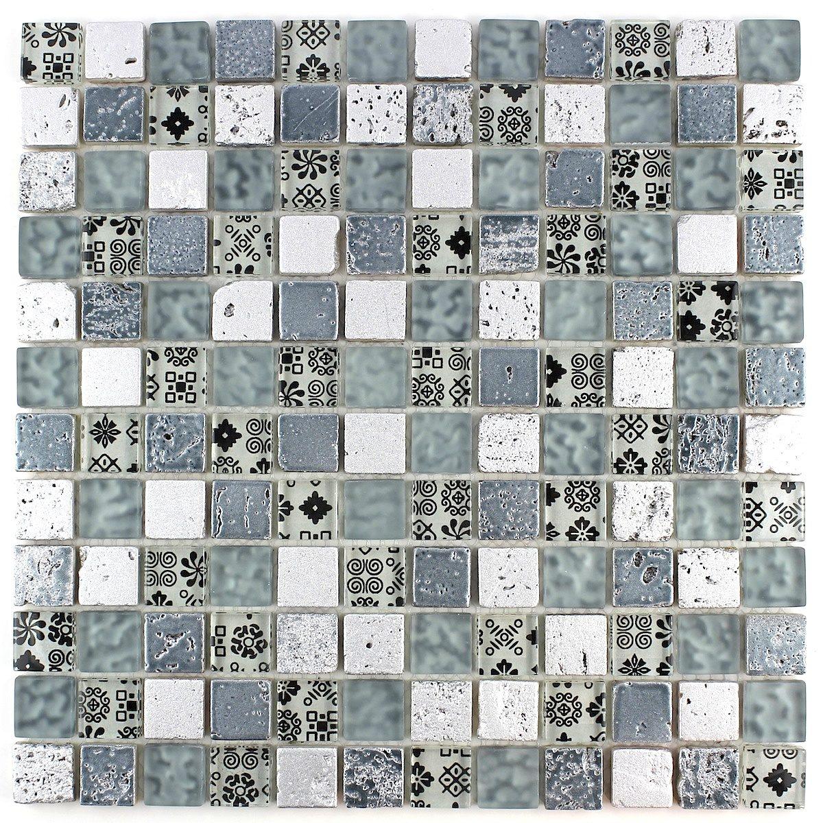 Mosaique Murale Pour Salle De Bains Douche Et Cuisine Modele Milla